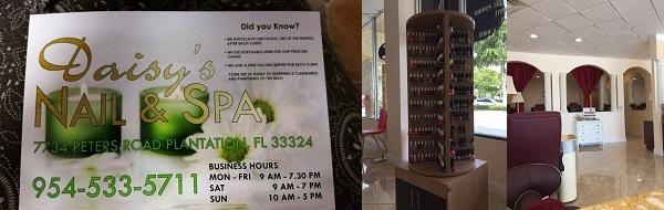 Daisy's Nails and Spa 7734 Peters Rd Plantation Florida