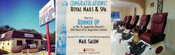 Royal Nails and Spa 408 S Ponce De Leon Blvd Saint Augustine Florida