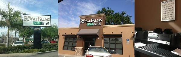 Nail Spa Salon Solution - Website Free - Royal Palms Natural