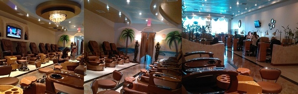 American nails and spa for Nail salon winter garden village