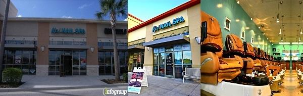 Koi Nail Spa 2025 WP Ball Blvd Sanford Florida