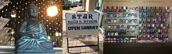 Star Nails & Brows 11601 S Cleveland Ave Ste 6 Fort Myers Florida