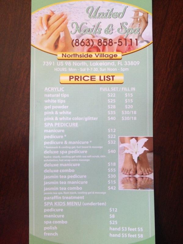 Nail Spa Salon Solution - Website Free - United Nails And Spa - Nail ...