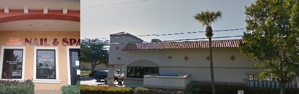 Hot Rocks Nails & Spa 8890 Salrose Ln Ste 108 Fort Myers Florida