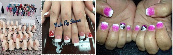 Glamorous Nails II 9140 NW 39th Ave Ste 120 Gainesville Florida