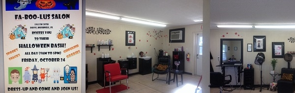Fa-Boo-Lus Salon 5915 SW 20th Drive Bushnell Florida