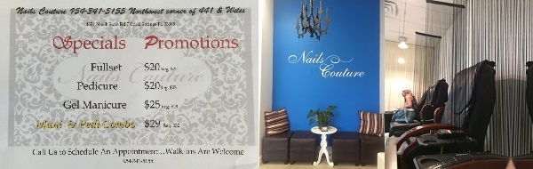 Nails Couture 4651 N State Rd 7 Ste 2C Coconut Creek Florida