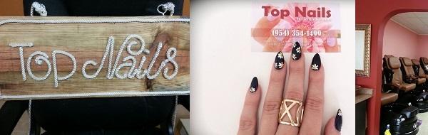 Top Nails Salon 1618 SE 3rd Ct Deerfield Beach Florida