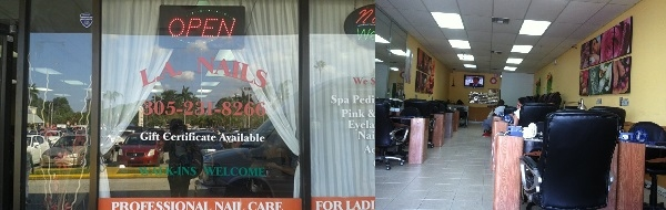 L A Nails 6536 NW 186th St Hialeah Florida
