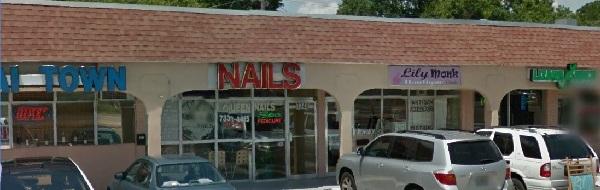 Queen Nails 1344 Main St Dunedin Florida