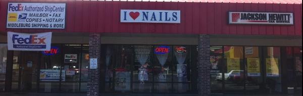 I Love Nails 2710 Blanding Blvd Middleburg Florida