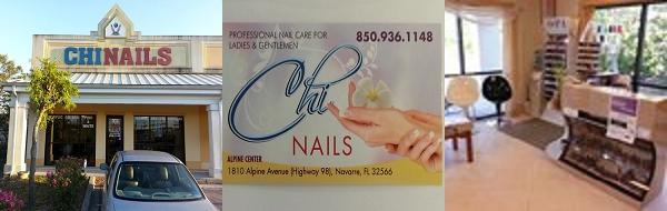 Chi Nails 1810 Alpine Dr Navarre Florida