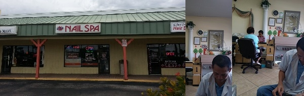 Passion Nail Spa 2348 N Highway A1A Melbourne Florida
