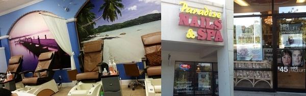 Paradise Nails & Spa 1410 Pine Ridge Rd Ste 11 Naples Florida