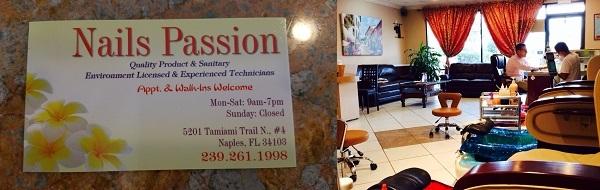 Nail Passion 5201 Tamiami Trl N Ste 4 Naples Florida
