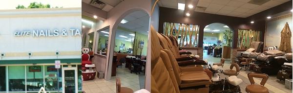 Elite Nails & Tan 840 A1A North # 120 Ponte Vedra Beach Florida