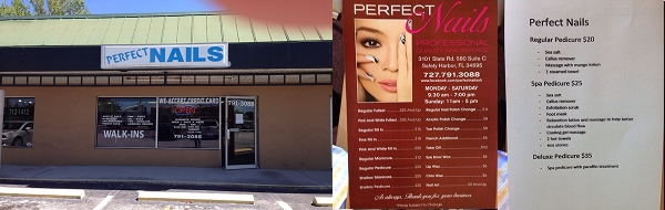 Perfect Nails 3101 State Rd 580 Safety Harbor Florida