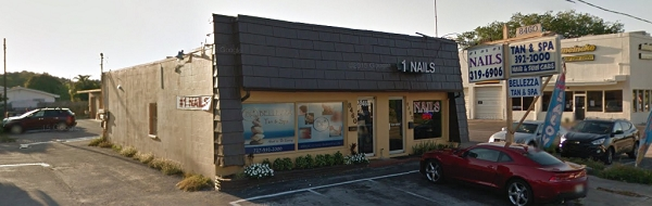 Number One Nail Salon 8462 Seminole Blvd Seminole Florida