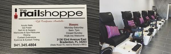 The Nail Shoppe 3136 53rd Ave E Bradenton Florida
